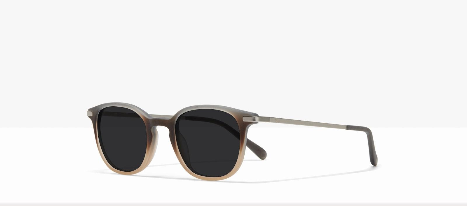 Affordable Fashion Glasses Round Sunglasses Men Tux M Matte Fog Tilt