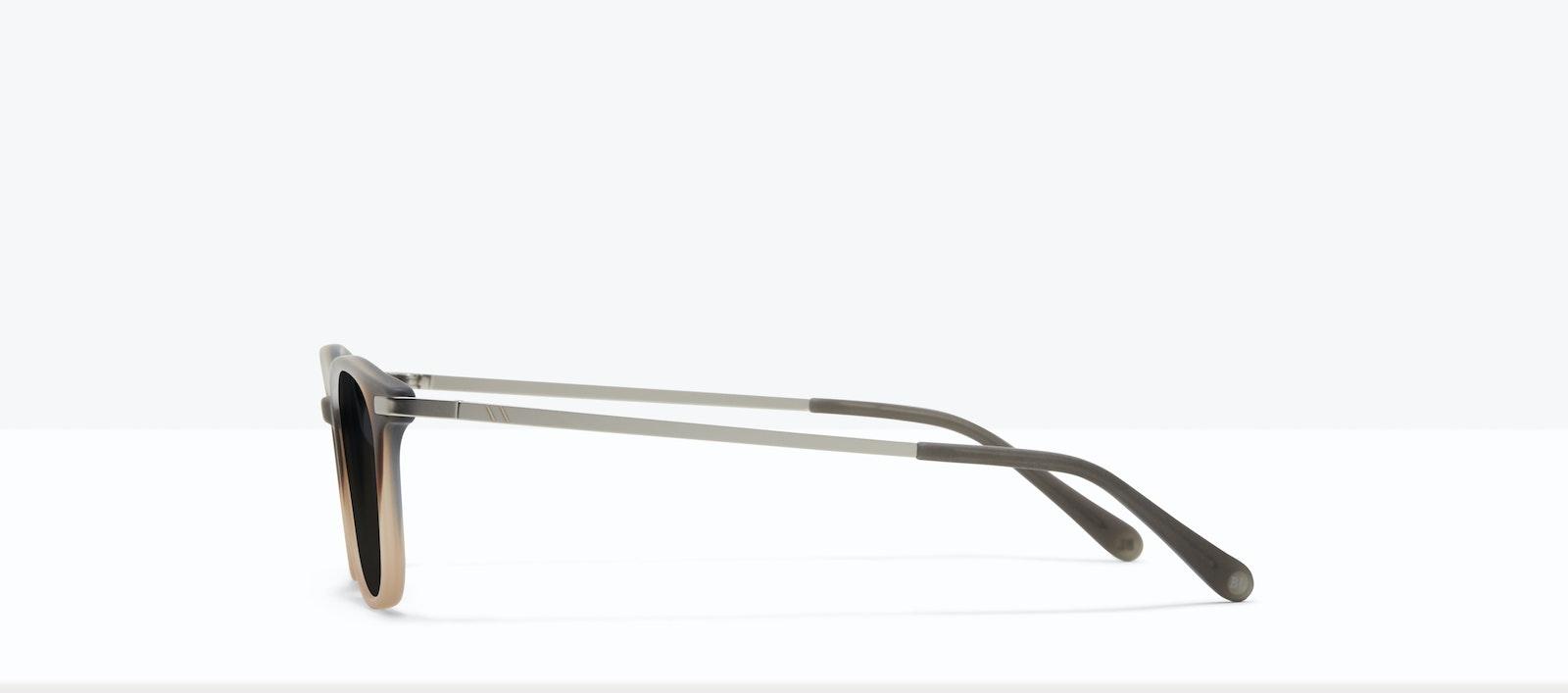 Affordable Fashion Glasses Round Sunglasses Men Tux M Matte Fog Side