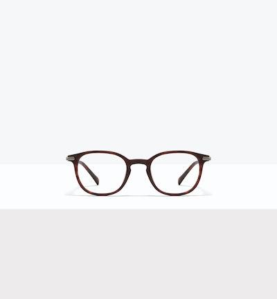 Affordable Fashion Glasses Round Eyeglasses Men Tux M Matte Tort Front