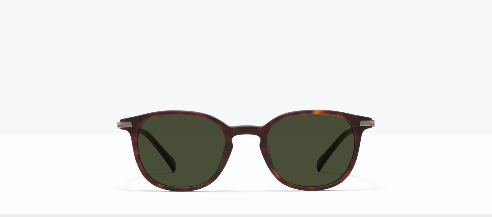 Affordable Fashion Glasses Round Sunglasses Men Tux M Matte Tort Front