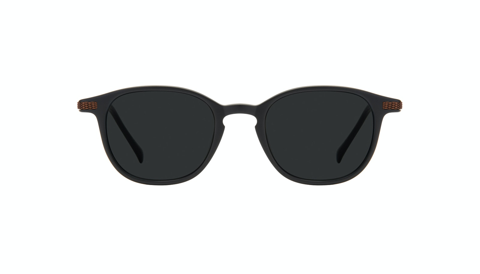 Affordable Fashion Glasses Round Sunglasses Men Tux Onyx Matte