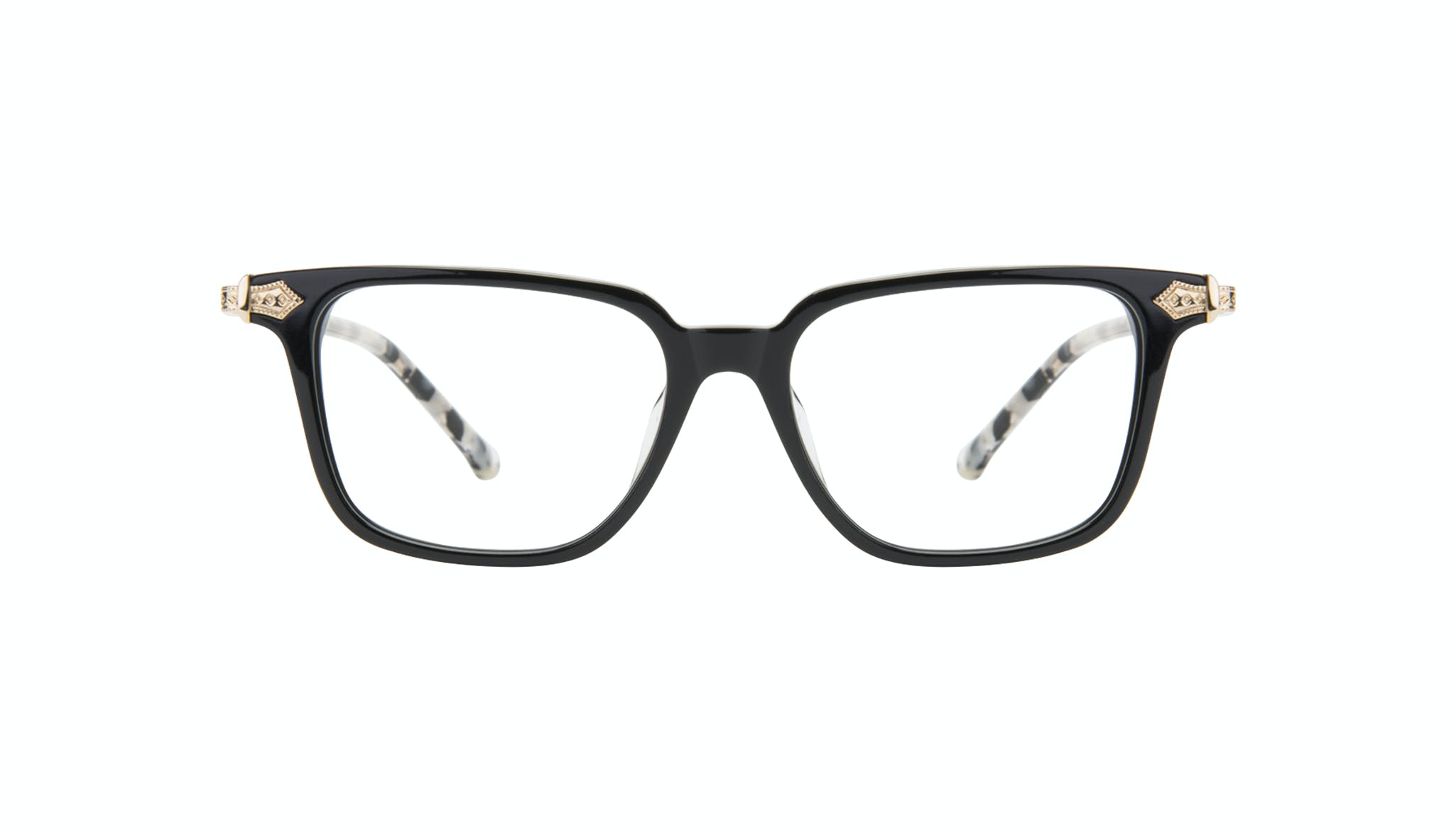 Affordable Fashion Glasses Square Eyeglasses Women Twinkle Onyx Marble