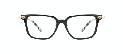 Affordable Fashion Glasses Square Eyeglasses Women Twinkle Onyx Marble Front