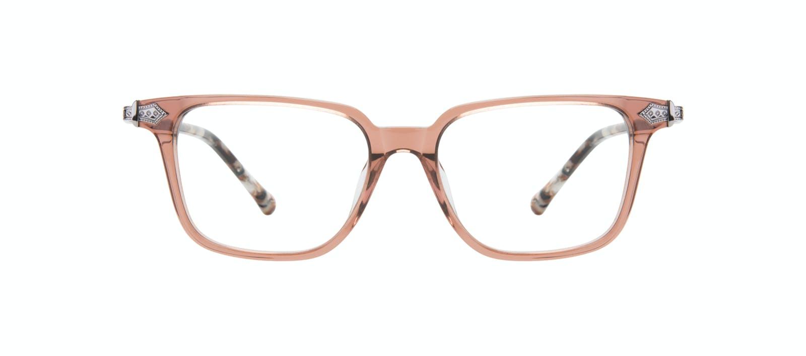 2736bbcb35 Affordable Fashion Glasses Square Eyeglasses Women Twinkle Truffle Rose  Front