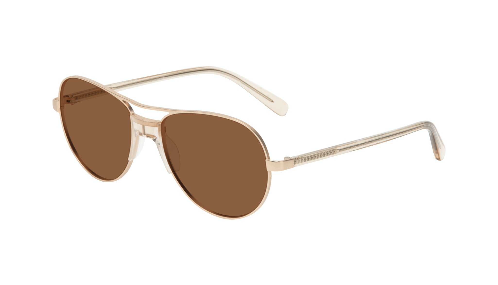 Affordable Fashion Glasses Aviator Sunglasses Women Ultimate Gold Tilt