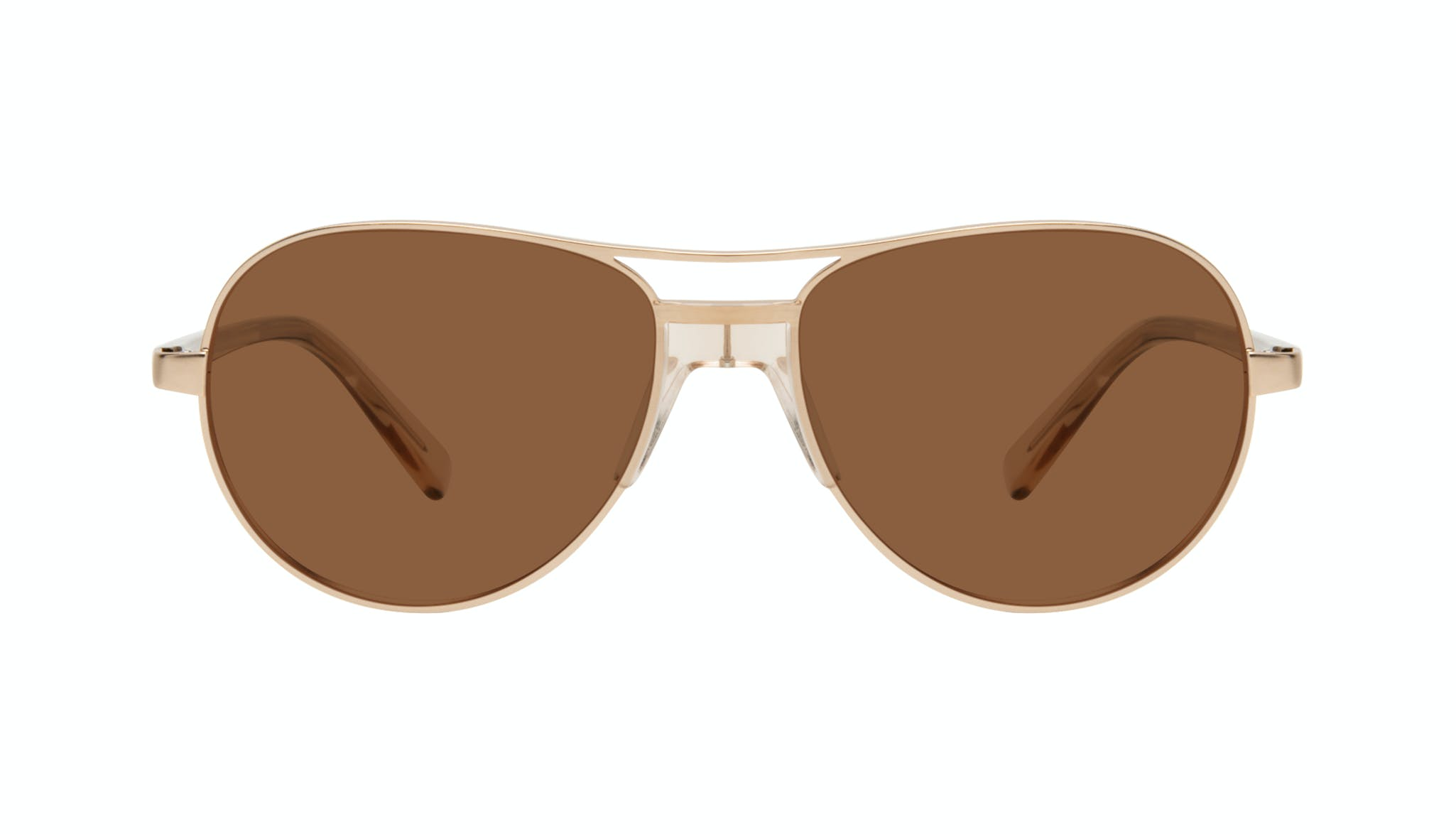 Affordable Fashion Glasses Aviator Sunglasses Women Ultimate Gold Front