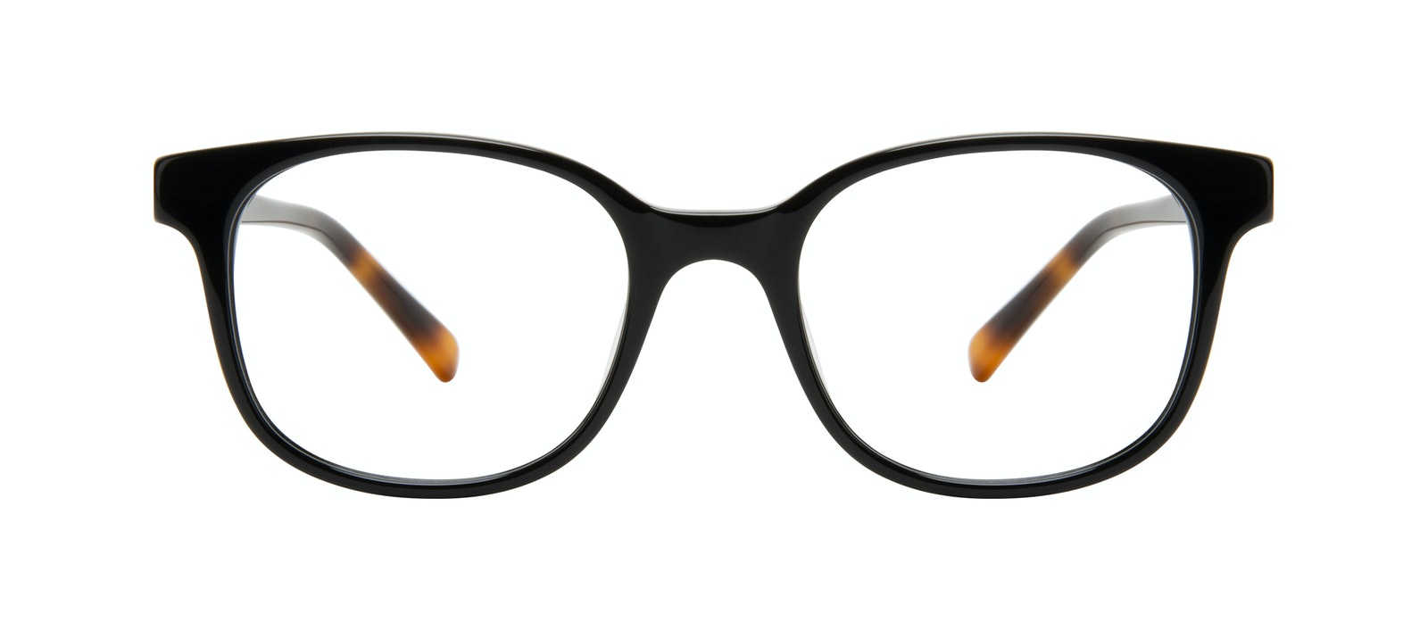 Affordable Fashion Glasses Square Eyeglasses Women Unique Onyx Front