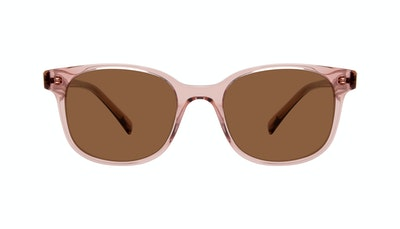 Affordable Fashion Glasses Square Sunglasses Women Unique Rose Front