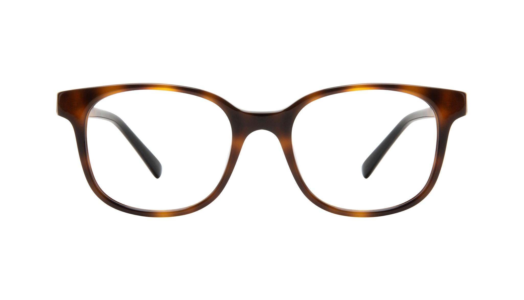 Affordable Fashion Glasses Square Eyeglasses Women Unique Tortoise Front