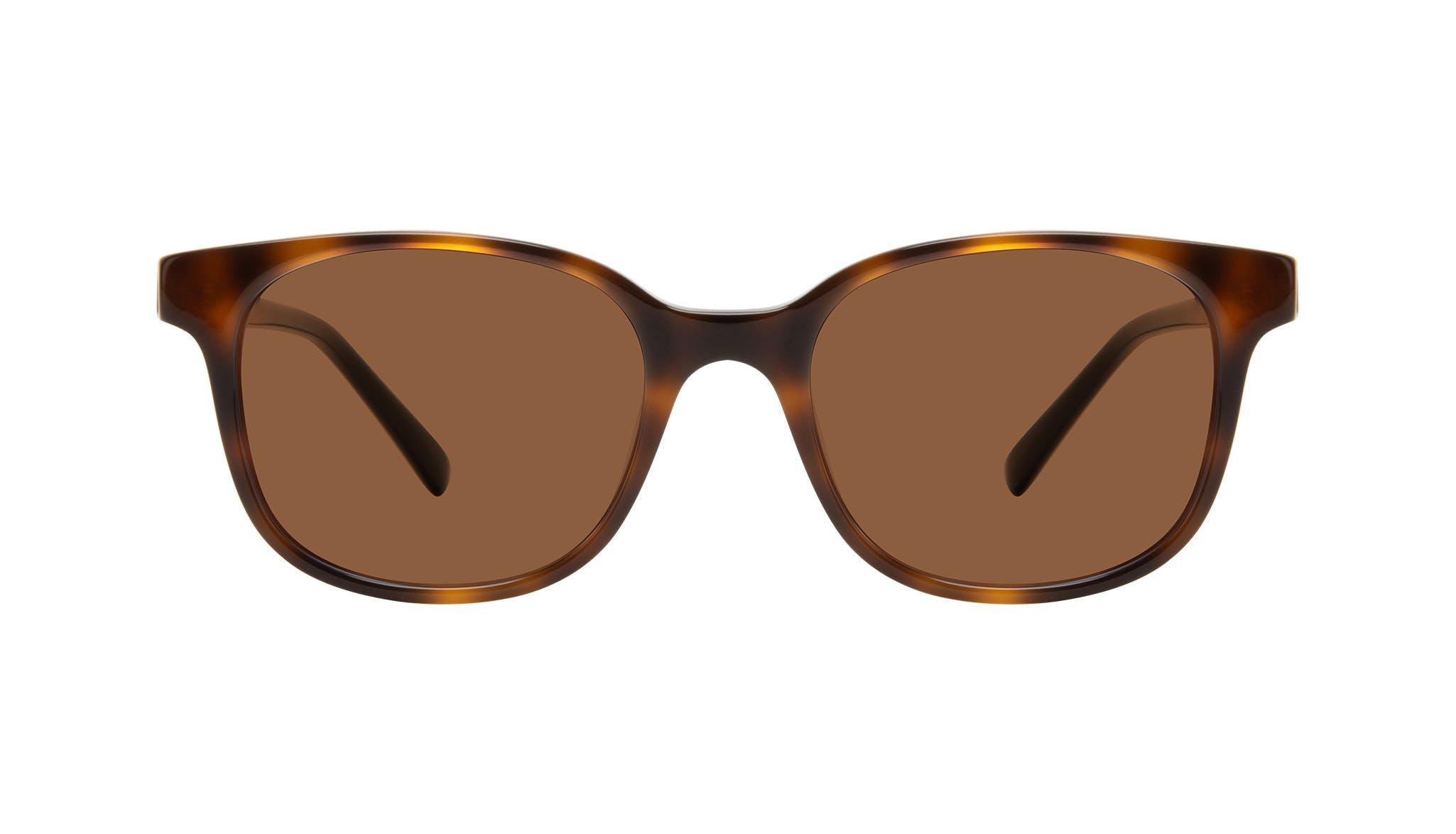 Affordable Fashion Glasses Square Sunglasses Women Unique Tortoise Front