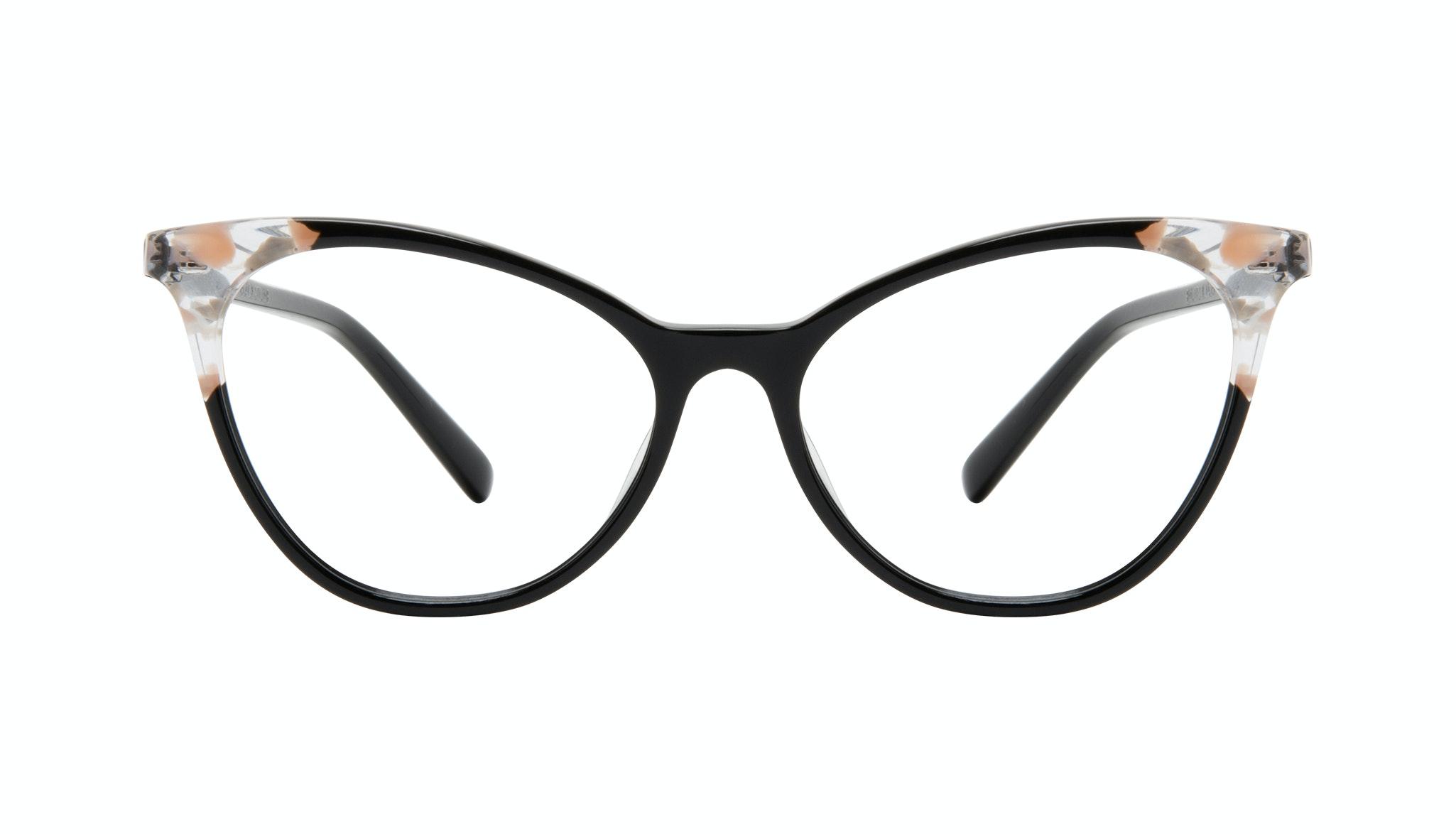 Lunettes tendance Oeil de chat Lunettes de vue Femmes Unreal Black Stone Face