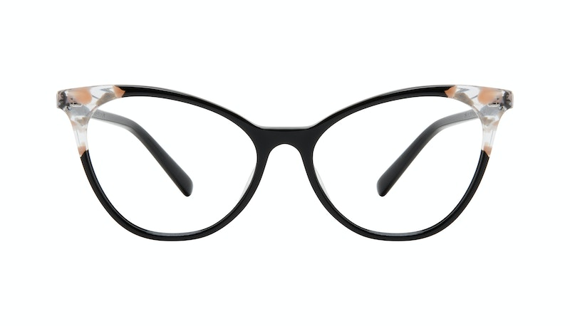 f25681236232 Affordable Fashion Glasses Cat Eye Eyeglasses Women Unreal Black Stone