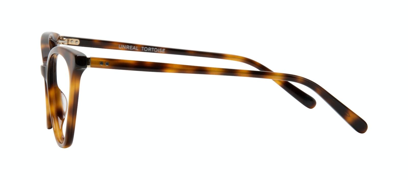 Affordable Fashion Glasses Cat Eye Eyeglasses Women Unreal Tortoise Side