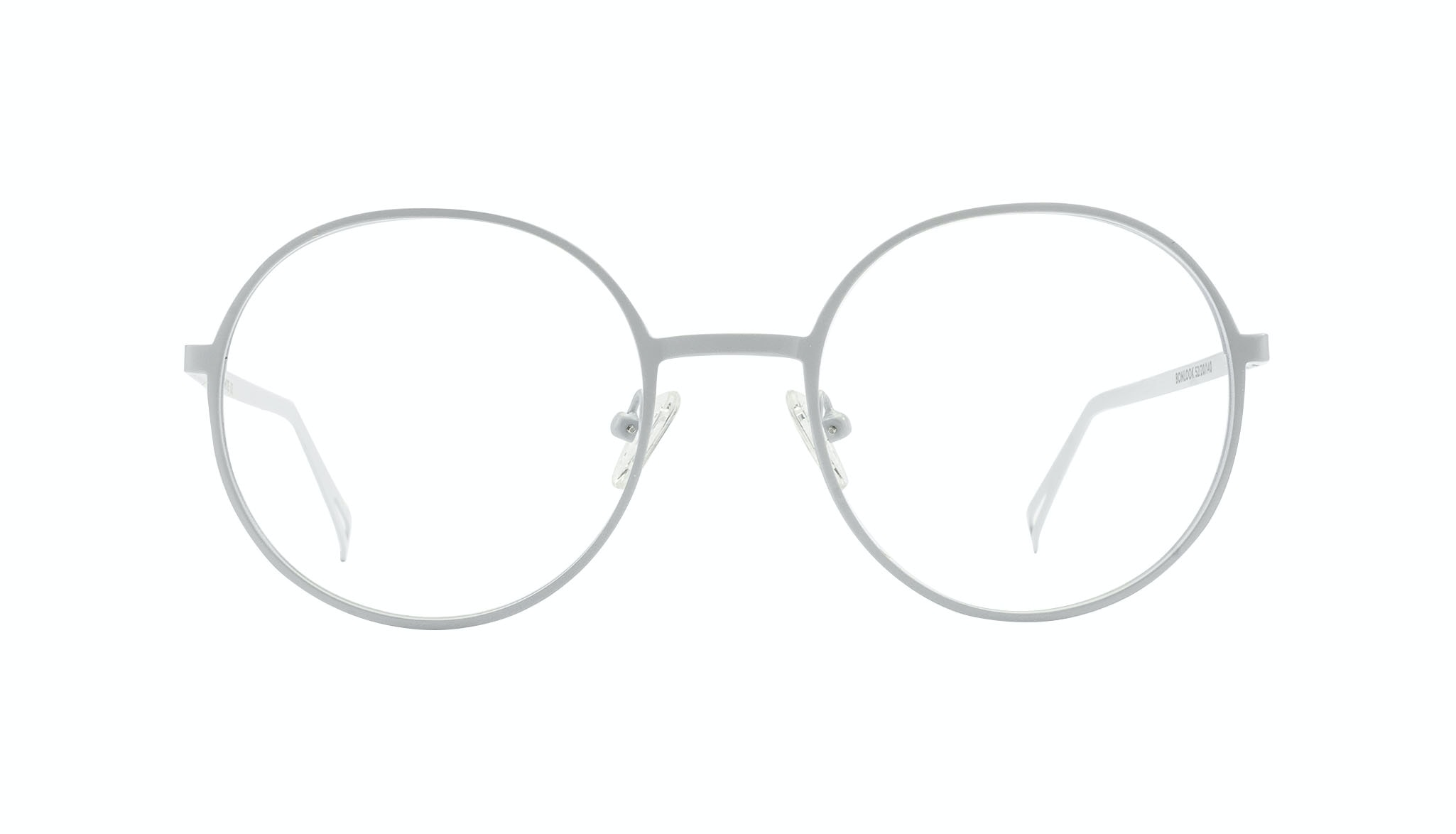 Affordable Fashion Glasses Round Eyeglasses Men Varna White
