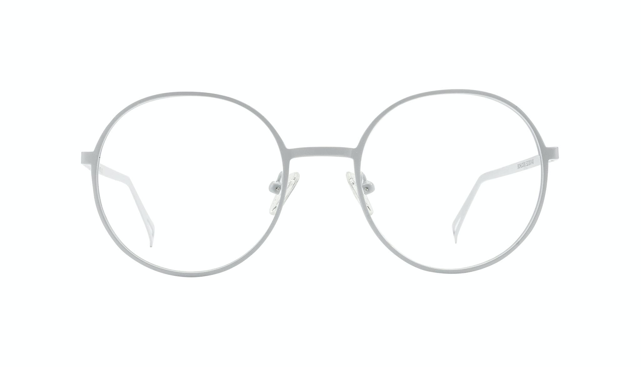Affordable Fashion Glasses Round Eyeglasses Men Women Varna White Front