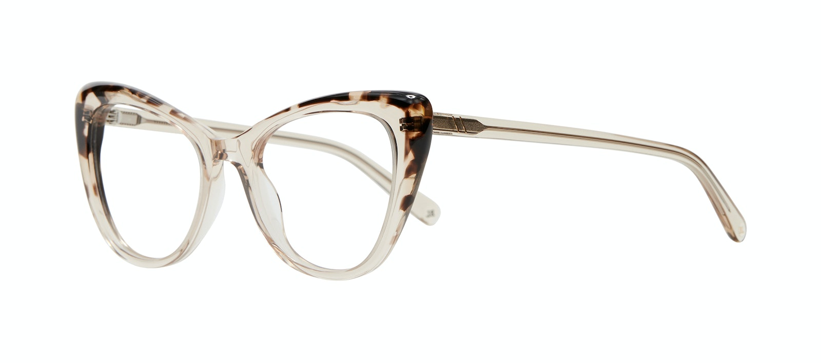 Affordable Fashion Glasses Cat Eye Eyeglasses Women Verve Golden Tortoise Tilt