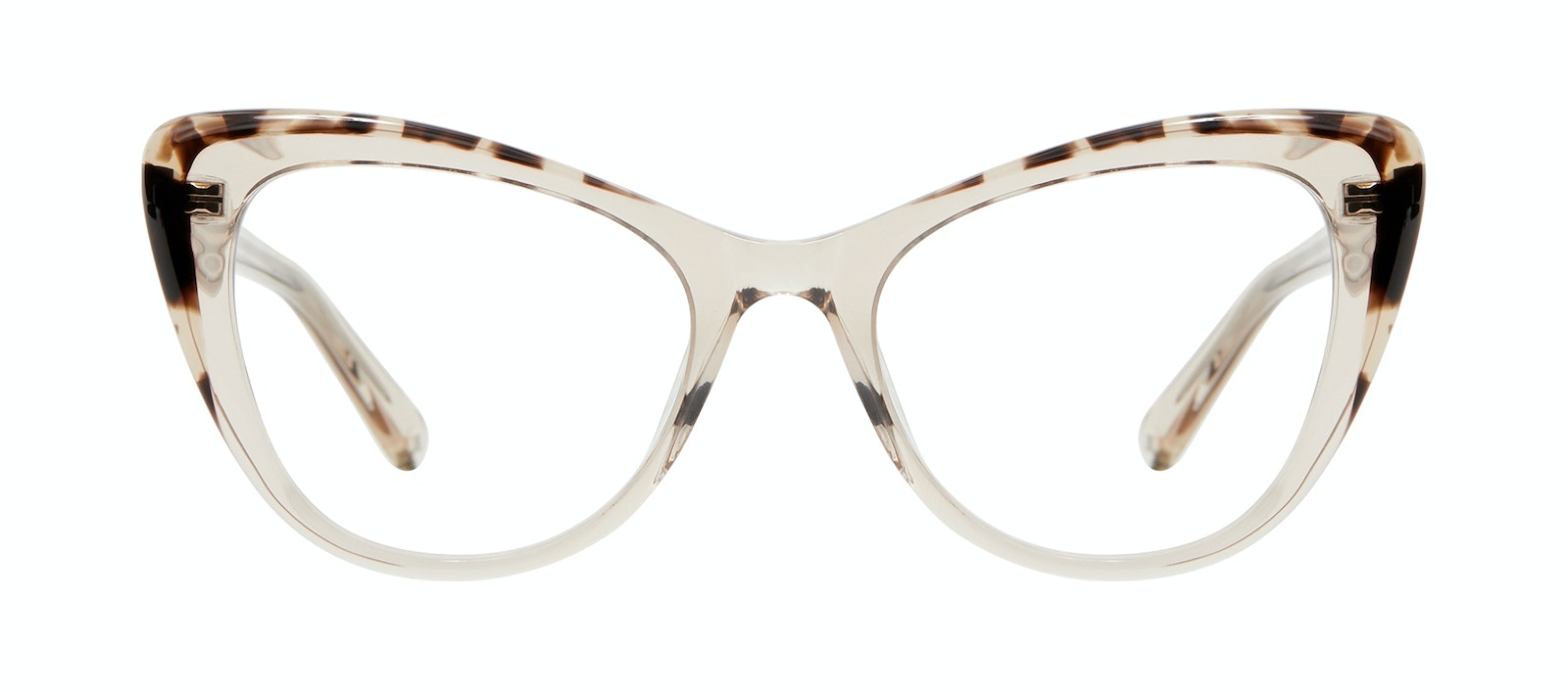 Affordable Fashion Glasses Cat Eye Eyeglasses Women Verve Golden Tortoise Front