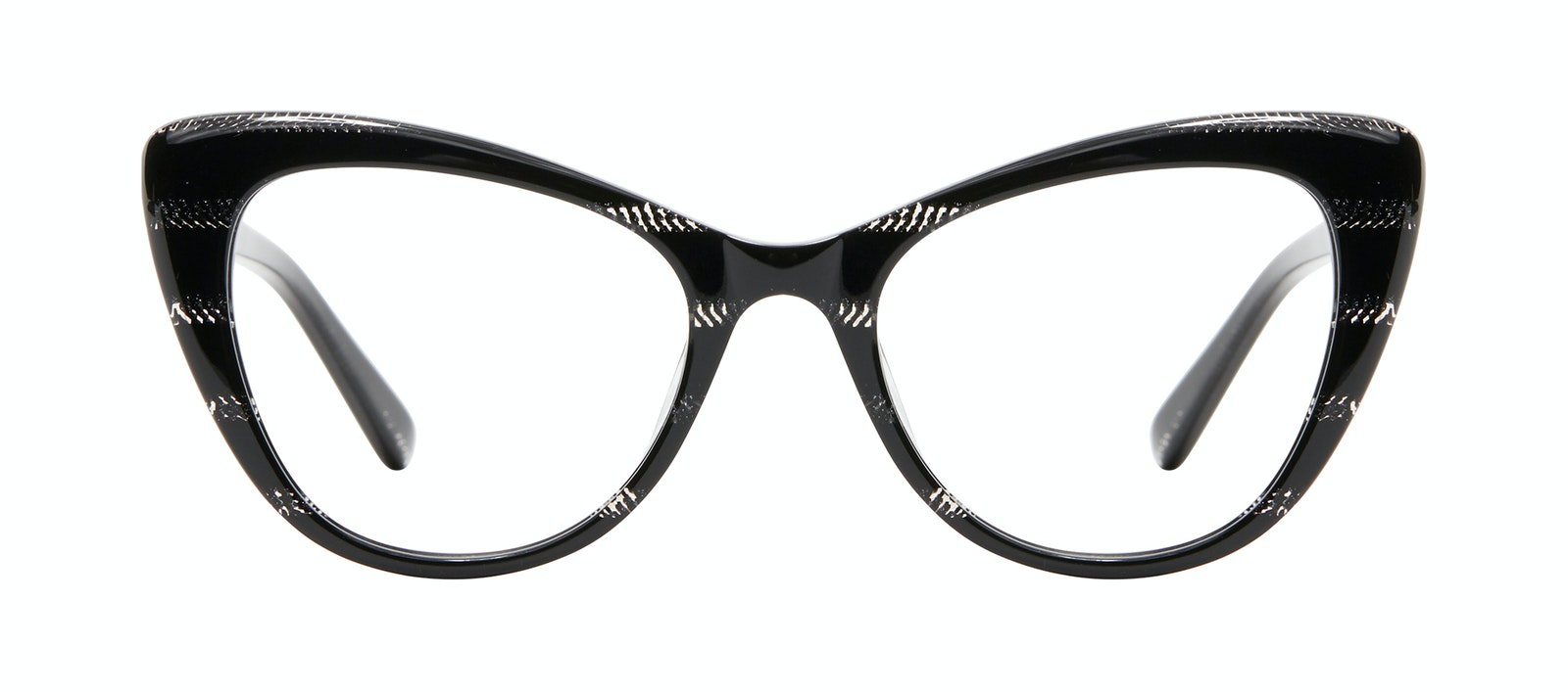 Affordable Fashion Glasses Cat Eye Eyeglasses Women Verve Night Front