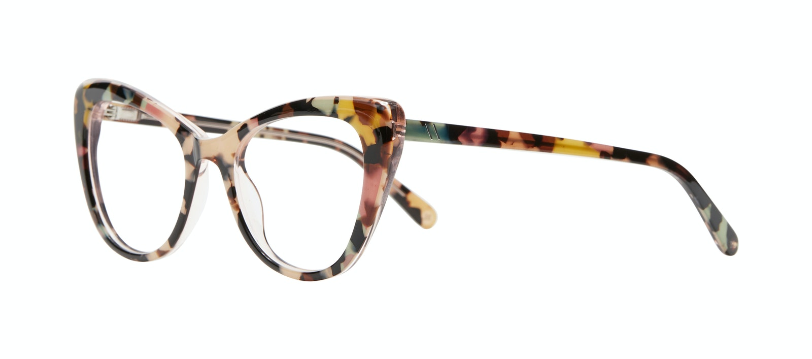 Affordable Fashion Glasses Cat Eye Eyeglasses Women Verve M Pastel Tort Tilt