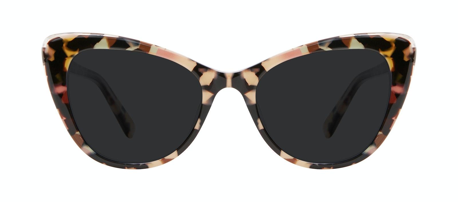 Affordable Fashion Glasses Cat Eye Sunglasses Women Verve Pastel Tort Front