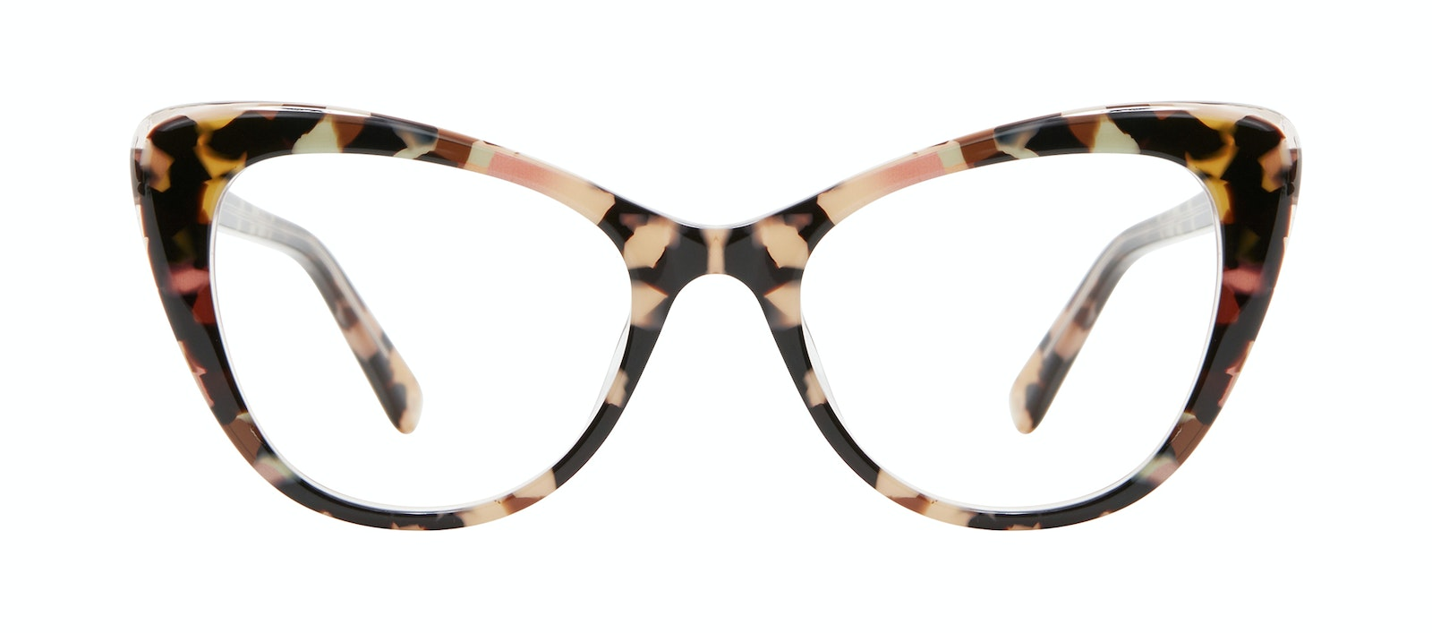 Affordable Fashion Glasses Cat Eye Eyeglasses Women Verve M Pastel Tort Front