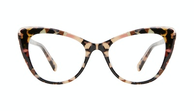 Affordable Fashion Glasses Cat Eye Eyeglasses Women Verve Pastel Tort Front