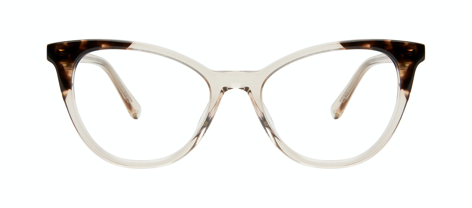Affordable Fashion Glasses Cat Eye Eyeglasses Women Victoire Golden Tortoise Front