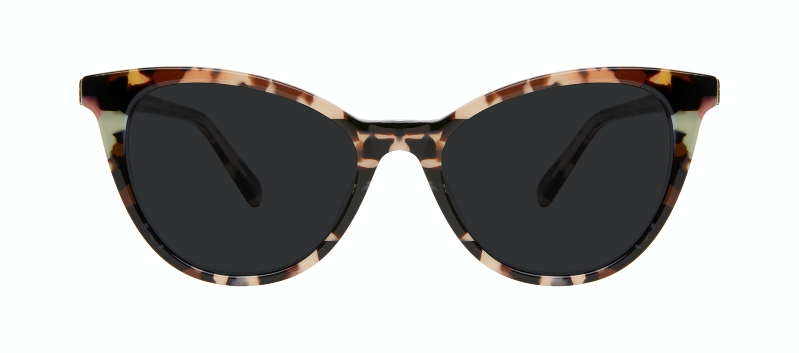 Affordable Fashion Glasses Cat Eye Sunglasses Women Victoire Pastel Tort Front