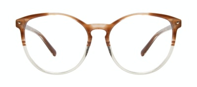 Affordable Fashion Glasses Round Eyeglasses Women Viva Tan Front