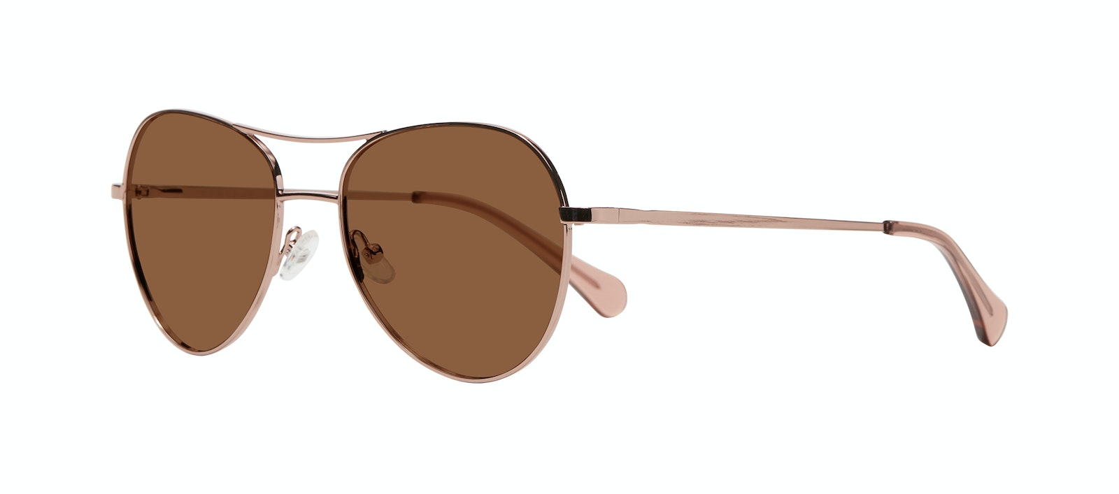 Affordable Fashion Glasses Aviator Sunglasses Women Want Rose Gold Tilt