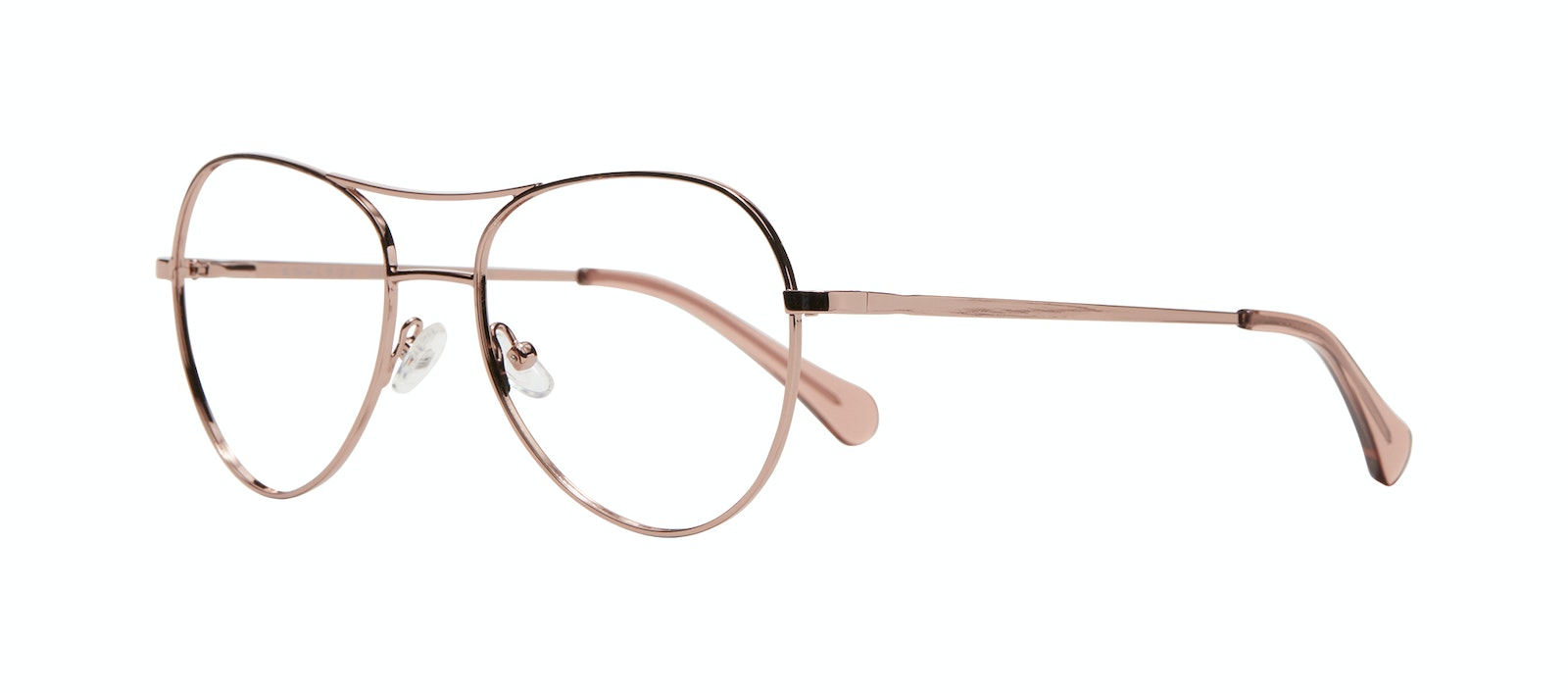 Affordable Fashion Glasses Aviator Eyeglasses Women Want M Rose Gold Tilt