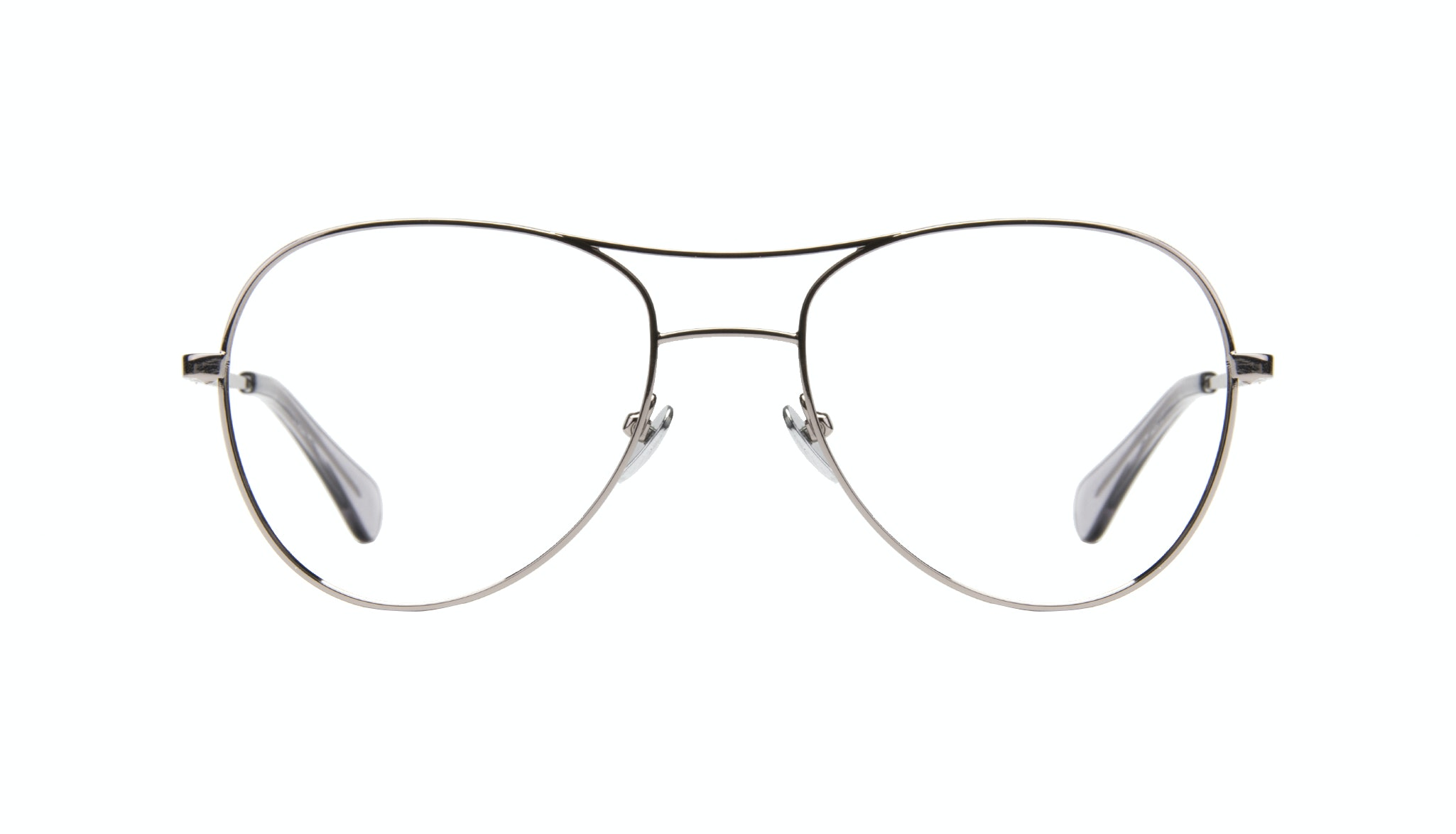 Affordable Fashion Glasses Aviator Eyeglasses Women Want Silver