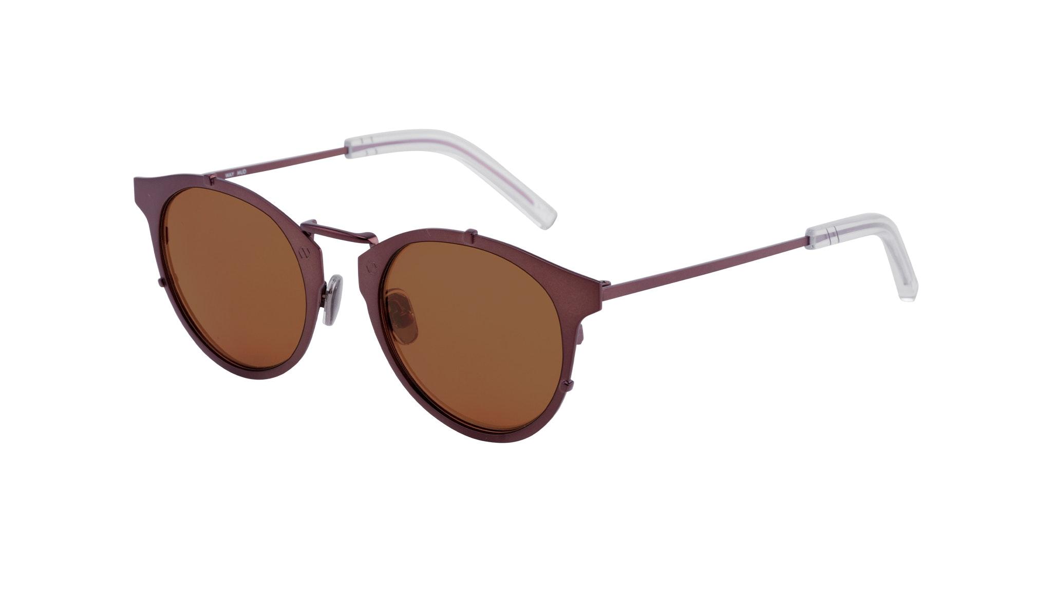 Affordable Fashion Glasses Round Sunglasses Men Way Mud Tilt
