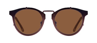 Affordable Fashion Glasses Round Sunglasses Men Way Mud Front