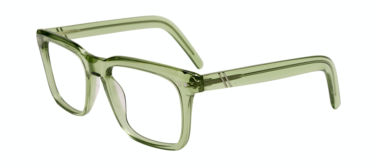 Affordable Fashion Glasses Square Eyeglasses Men Well Olive Tilt