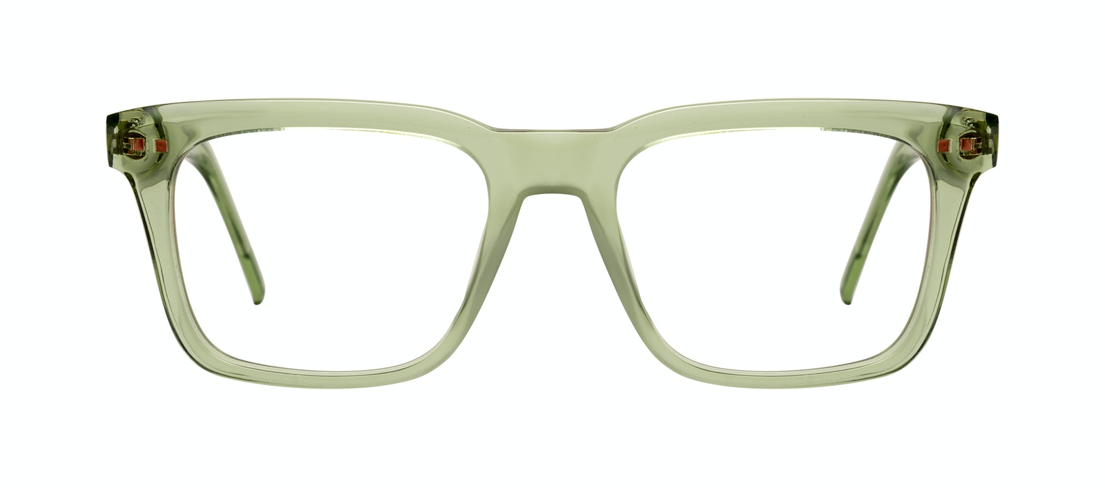Affordable Fashion Glasses Square Eyeglasses Men Well Olive Front