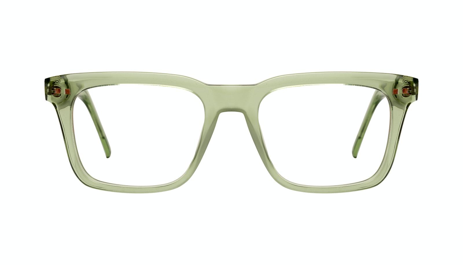 Affordable Fashion Glasses Square Eyeglasses Men Well Olive