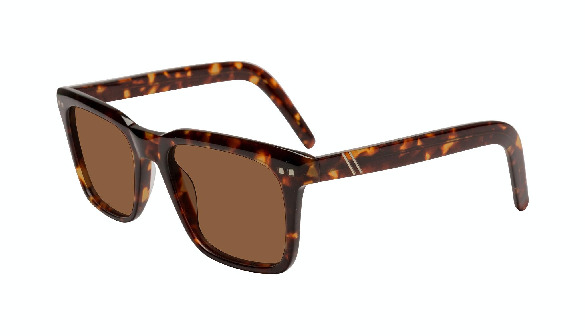 Affordable Fashion Glasses Square Sunglasses Men Well Tortoise Tilt