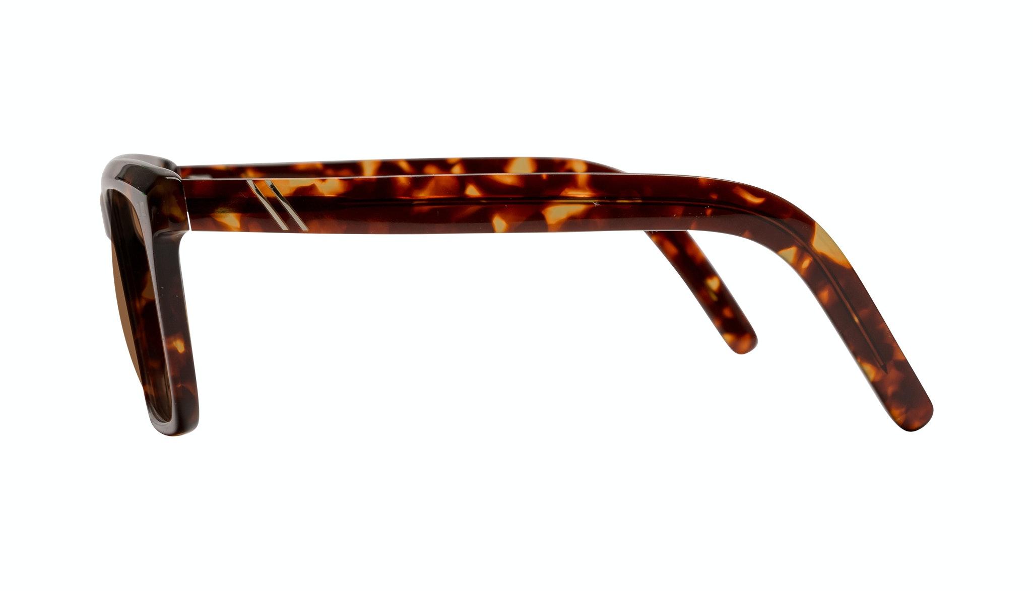 Affordable Fashion Glasses Square Sunglasses Men Well Tortoise Side