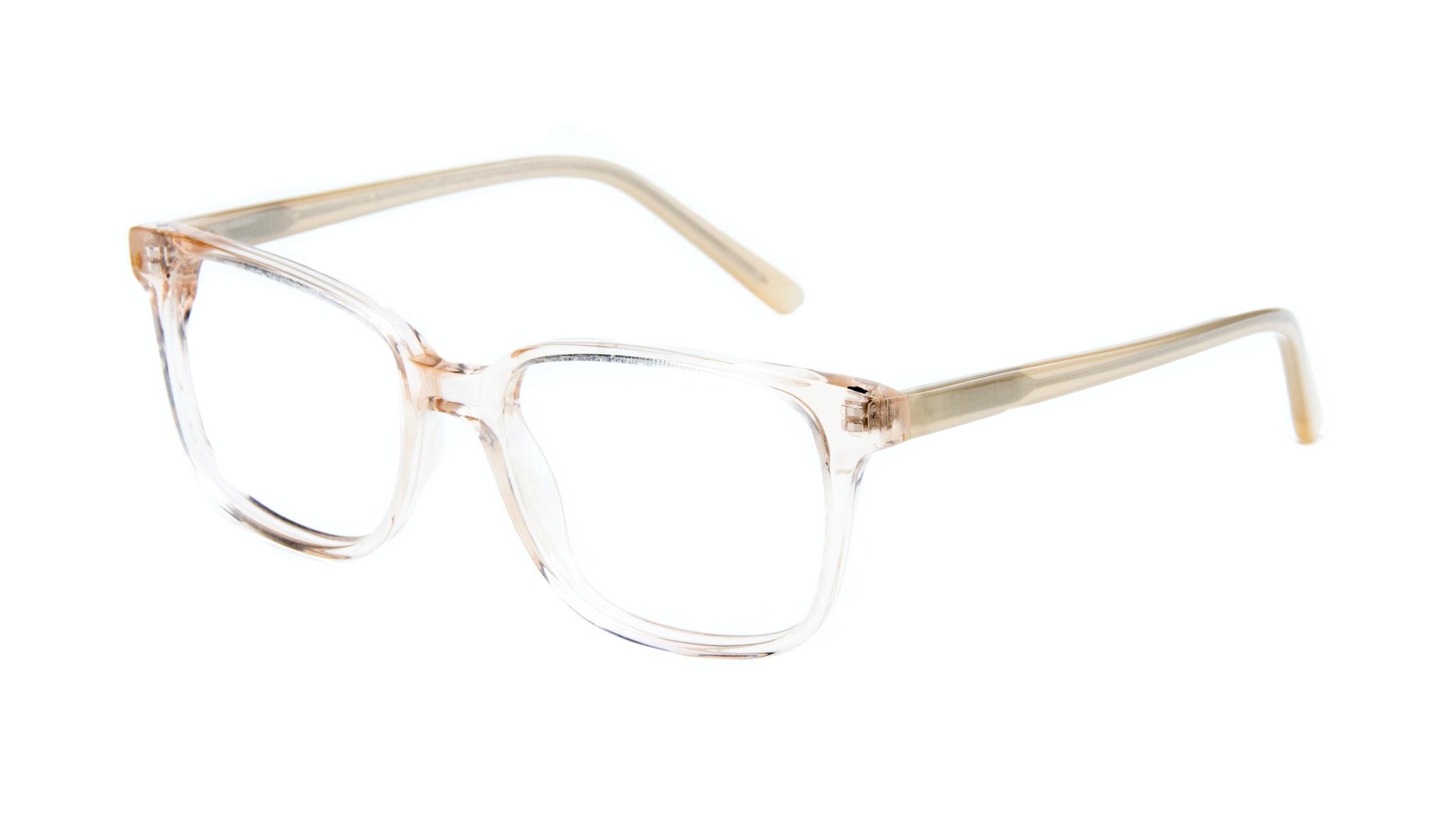 Affordable Fashion Glasses Rectangle Square Eyeglasses Women Windsor Blond Metal Tilt