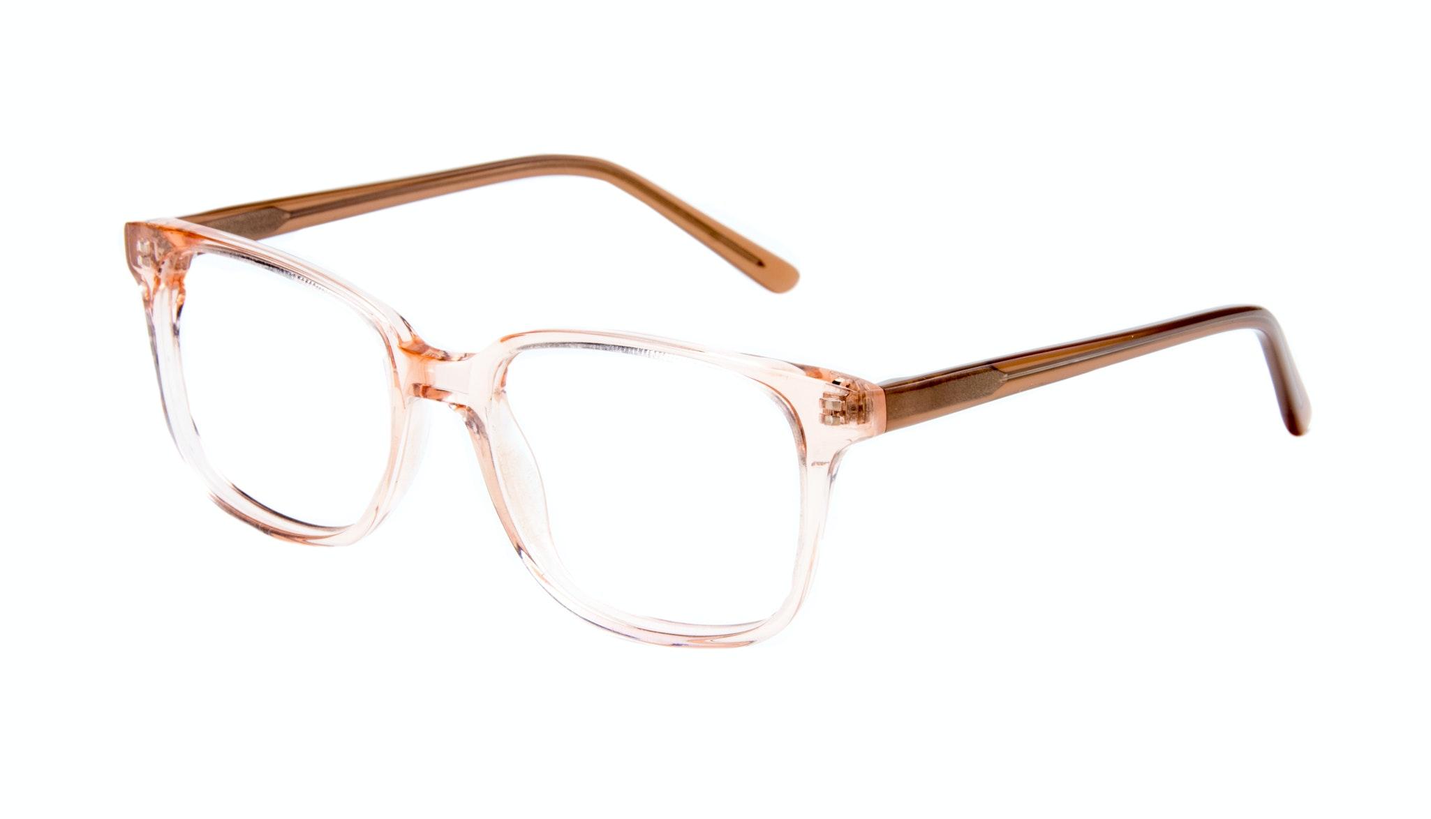 Affordable Fashion Glasses Square Eyeglasses Men Women Windsor Pink Metal Tilt