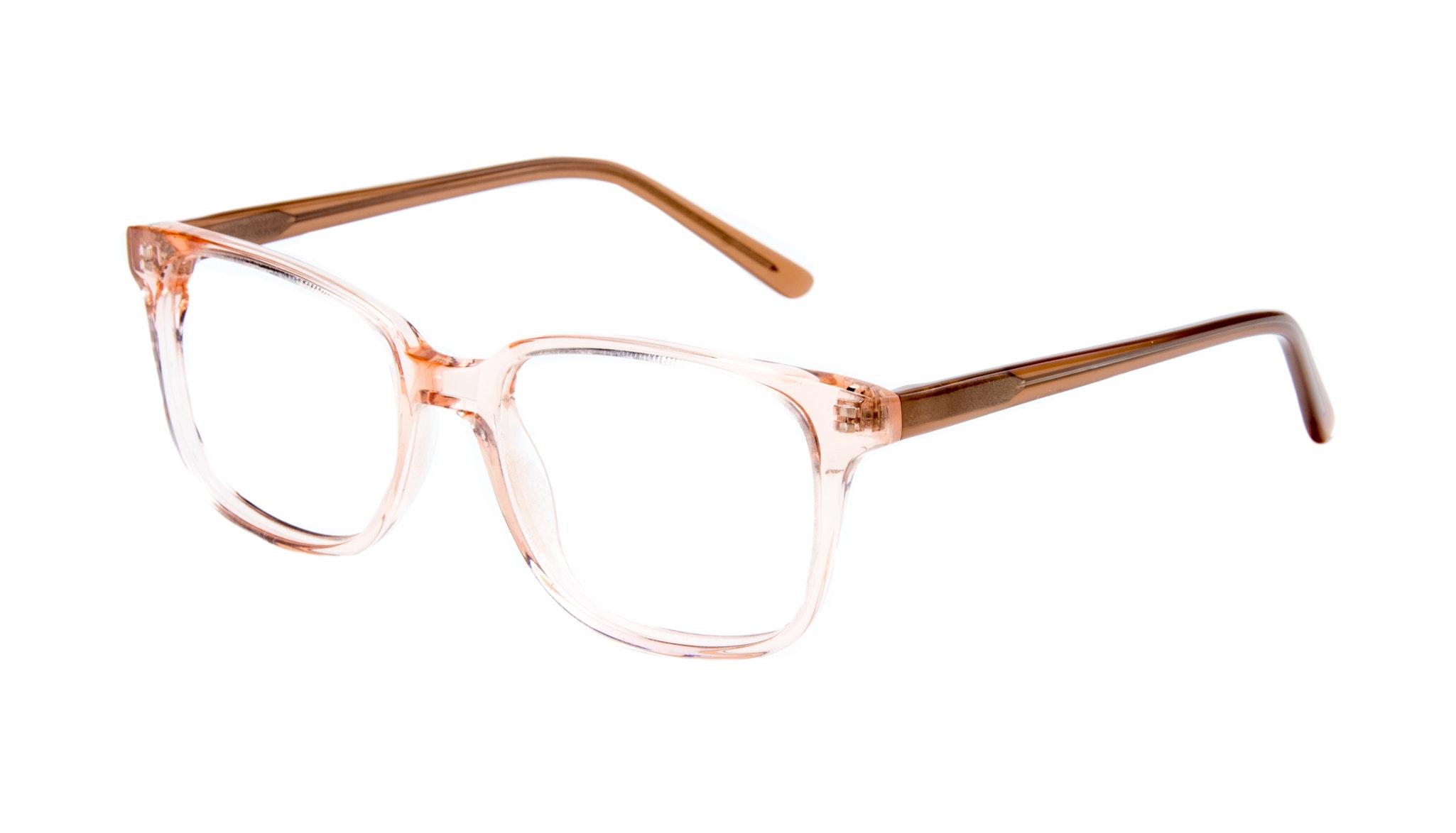 Affordable Fashion Glasses Rectangle Square Eyeglasses Women Windsor Pink Metal Tilt