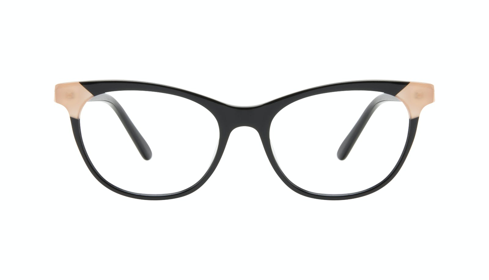 8d279a34406 Affordable Fashion Glasses Cat Eye Eyeglasses Women Witty Black Ivory