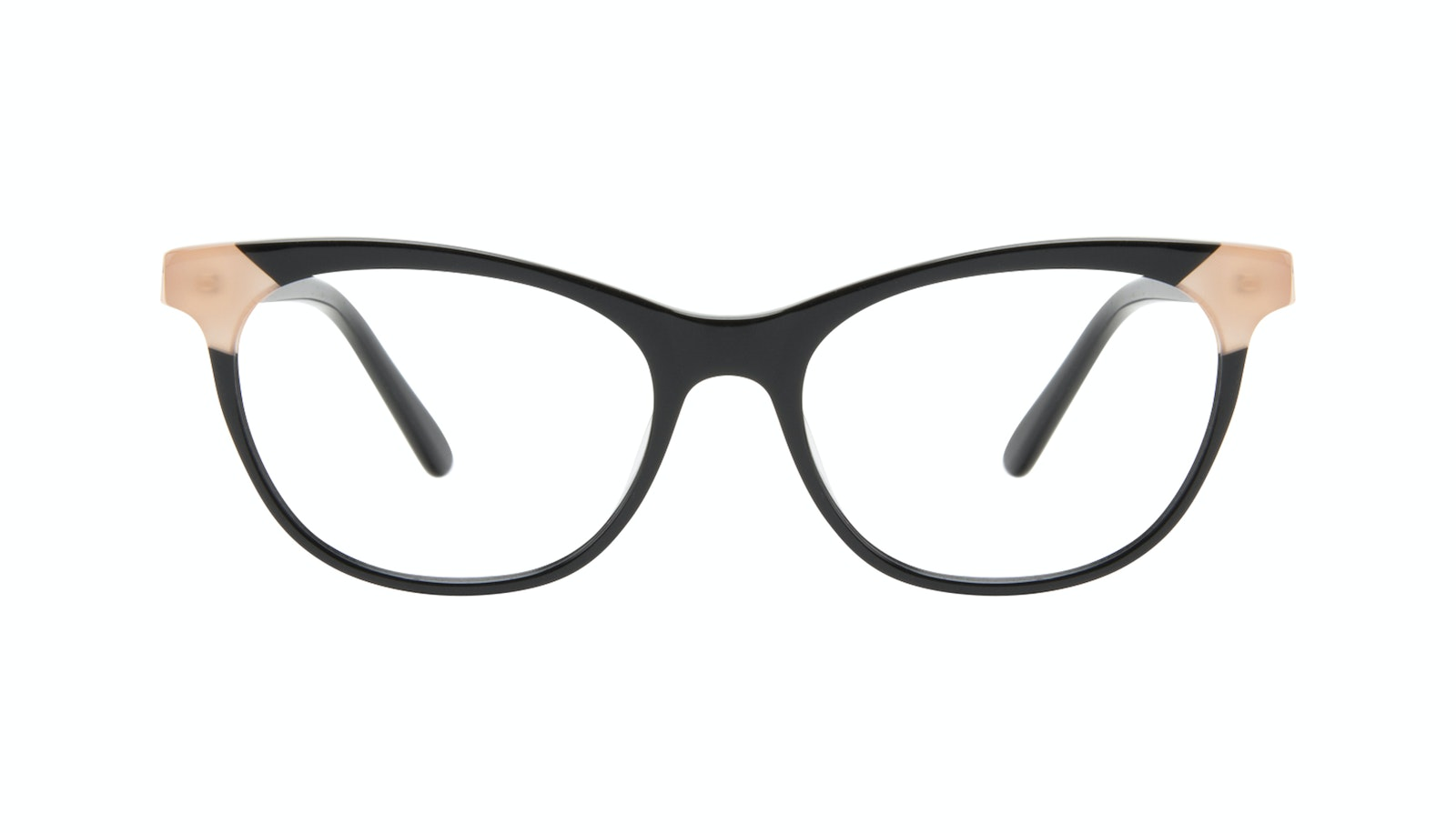 Affordable Fashion Glasses Cat Eye Eyeglasses Women Witty Black Ivory