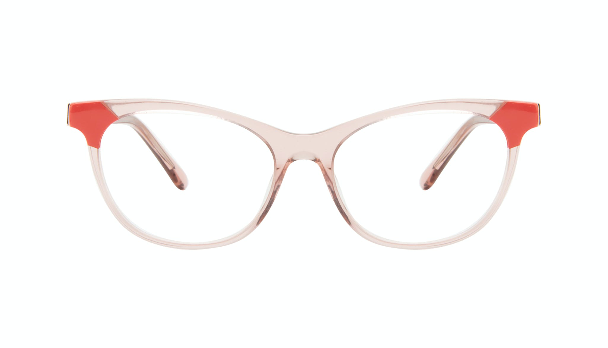 Affordable Fashion Glasses Cat Eye Eyeglasses Women Witty Pink Coral