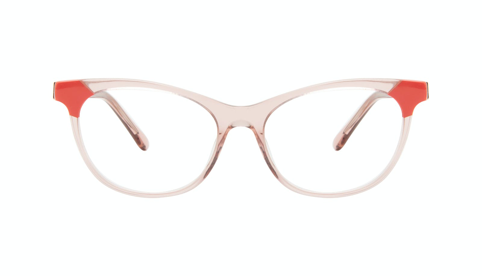 67bb4e4f3c Affordable Fashion Glasses Cat Eye Eyeglasses Women Witty Pink Coral