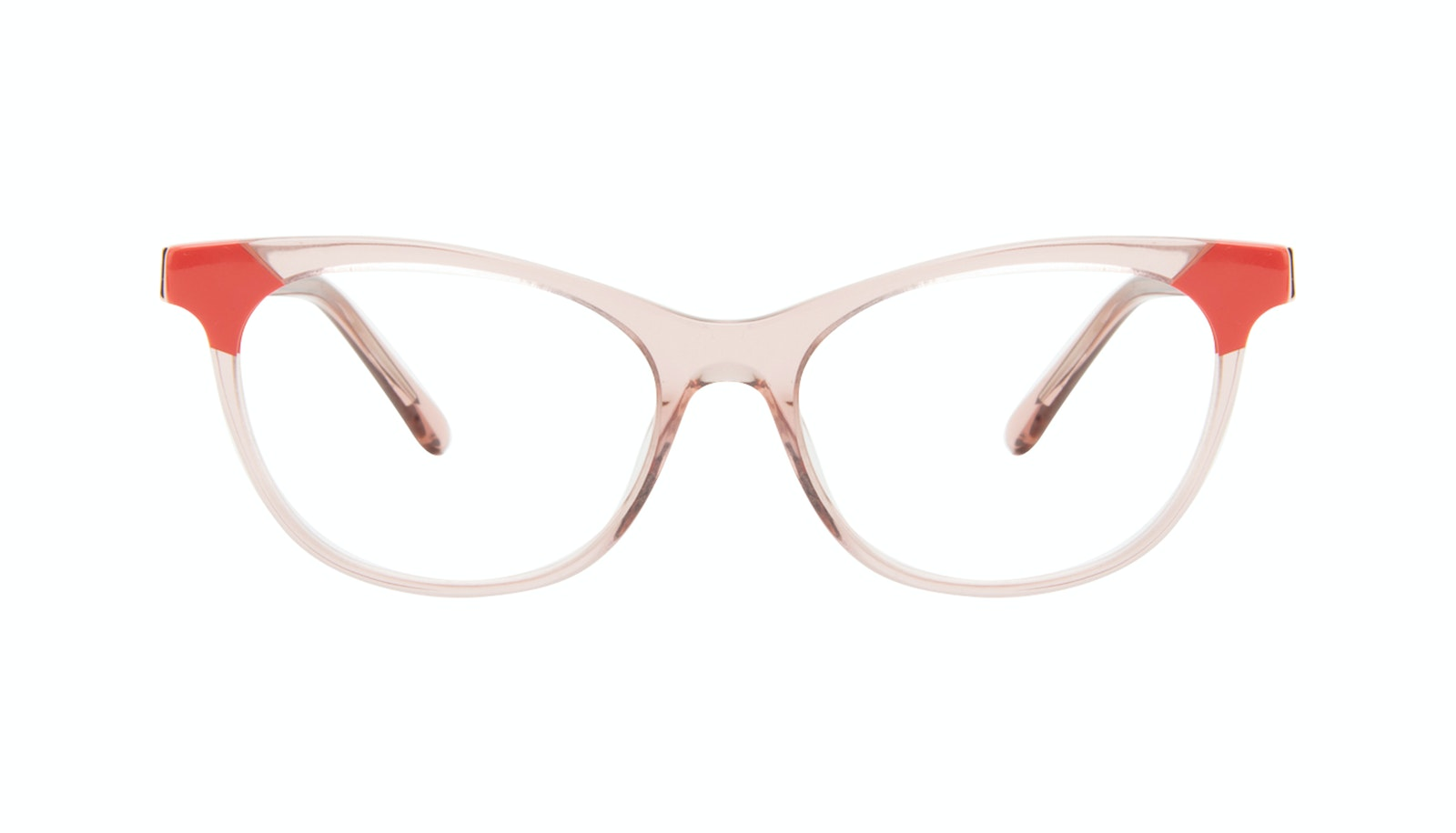 c50c1101af78 Affordable Fashion Glasses Cat Eye Eyeglasses Women Witty Pink Coral