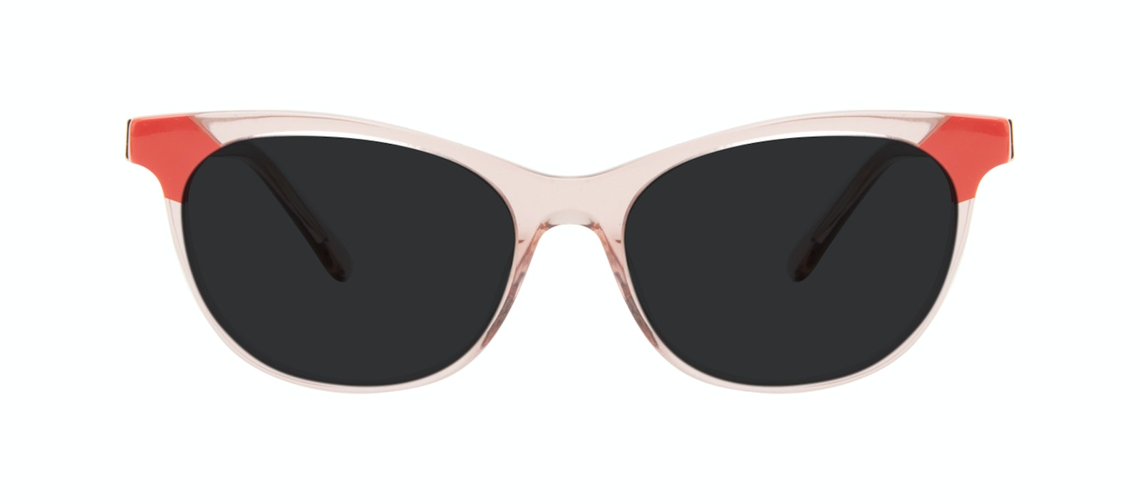 Affordable Fashion Glasses Cat Eye Sunglasses Women Witty Pink Coral Front