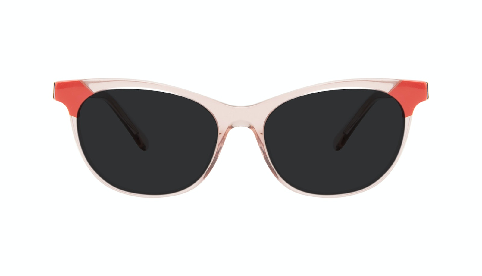 Affordable Fashion Glasses Cat Eye Sunglasses Women Witty Pink Coral