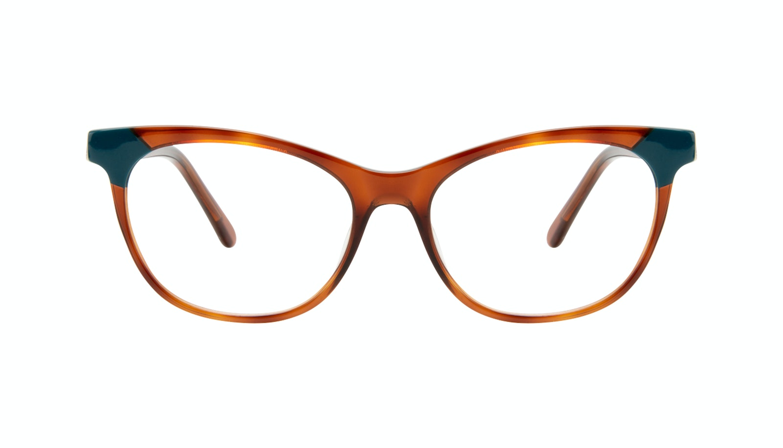 Affordable Fashion Glasses Cat Eye Eyeglasses Women Witty Teal Tort